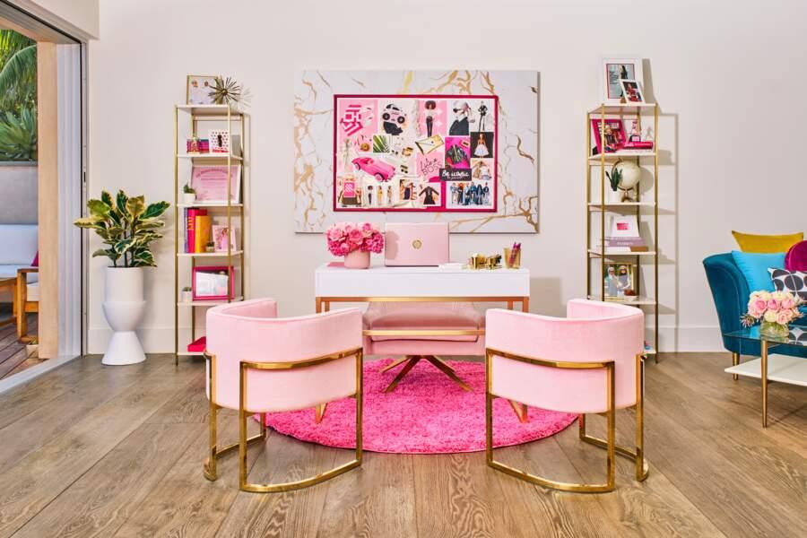 Le bureau de Barbie