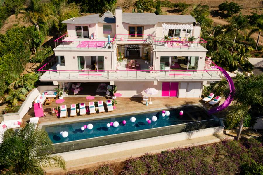 La maison de Barbie