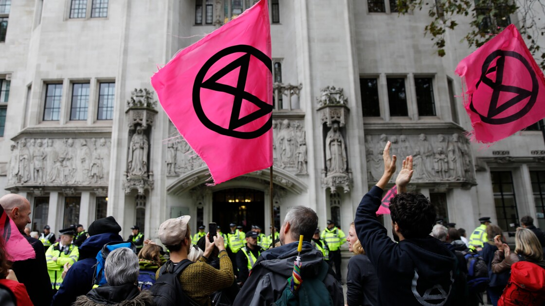 Arrestations dans le métro londonien lors d'actions d'Extinction Rebellion