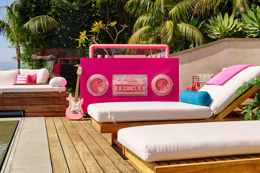 Le pool house de Barbie