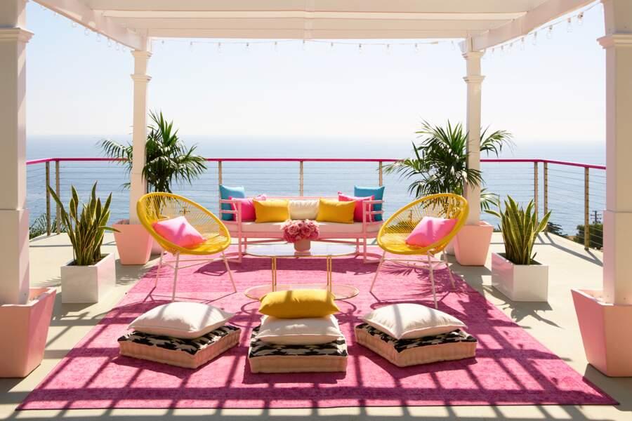 La terrasse de Barbie