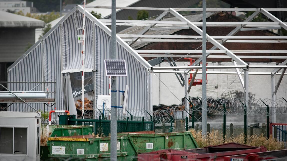 Incendie Lubrizol: le PDG auditionné, les premiers fûts évacués