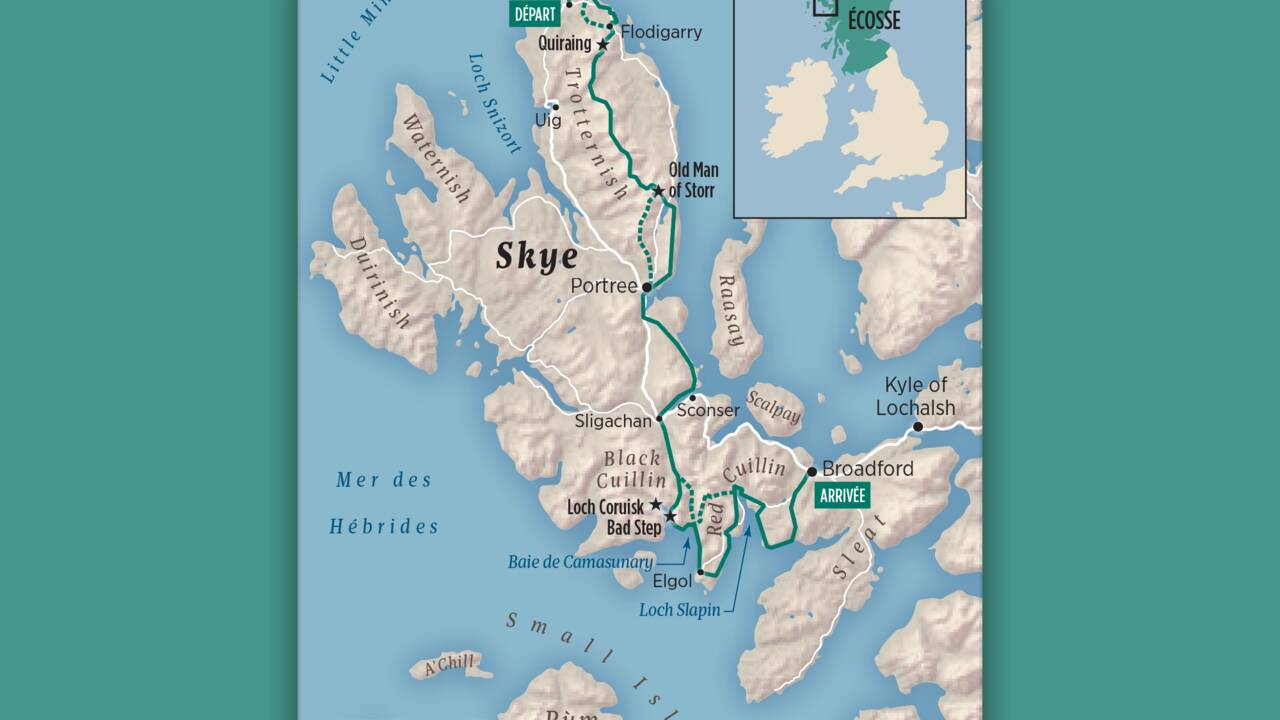 L'Ecosse à pied : nos conseils pour traverser l'île de Skye