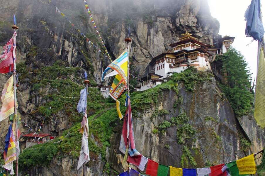 Un temple au Bhoutan