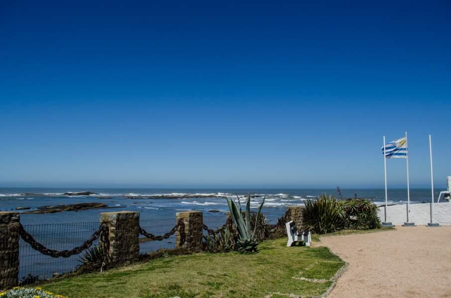 Le bord de mer en Uruguay