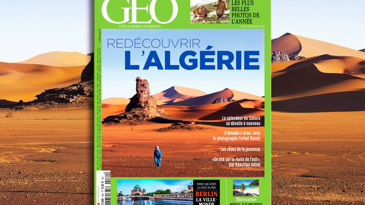 L'Algérie dans le nouveau numéro de GEO
