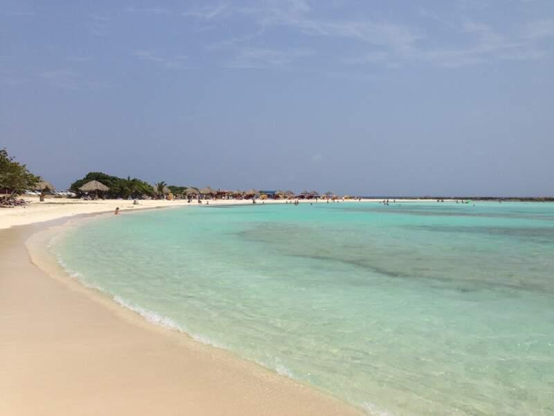 Une plage de rêve à Aruba