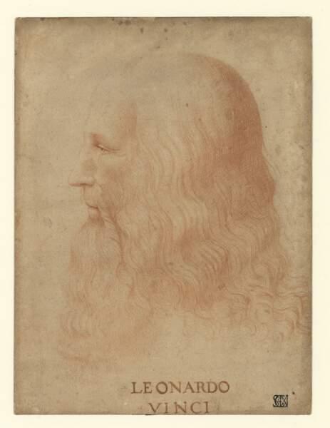 Portrait de Léonard de Vinci, vers 1515-1518 ?