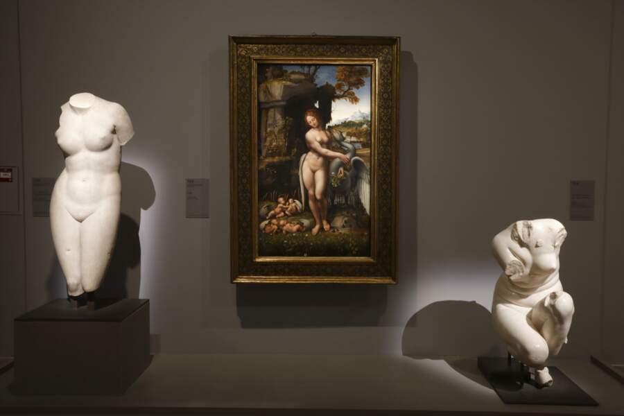 Léda, atelier de Léonard de Vinci, vers 1505-1510