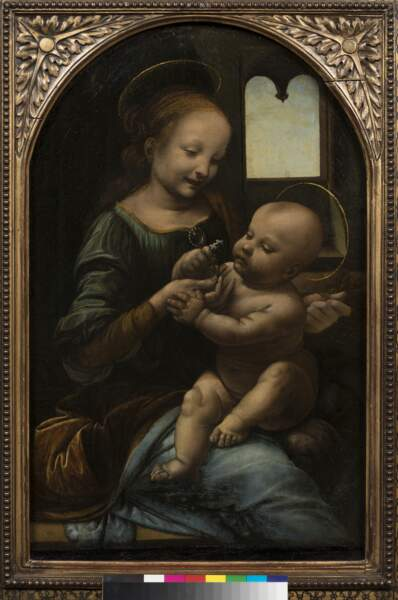 Vierge à l'Enfant, dite Madone Benois, vers 1480-1482