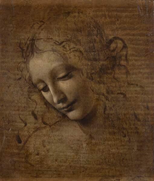 Tête de jeune femme dite La Scapiliata (« l'Echevelée »), vers 1492-1501