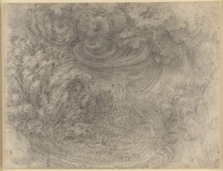 Déluge, vers 1517-1518