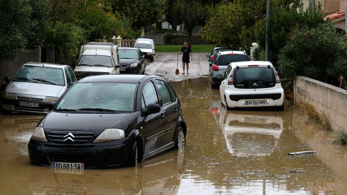 Alerte orange aux pluies et inondations dans six départements du sud