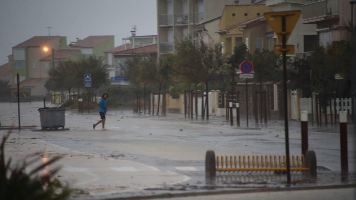 L'alerte orange pluie-inondations étendue à neuf départements dans le Sud