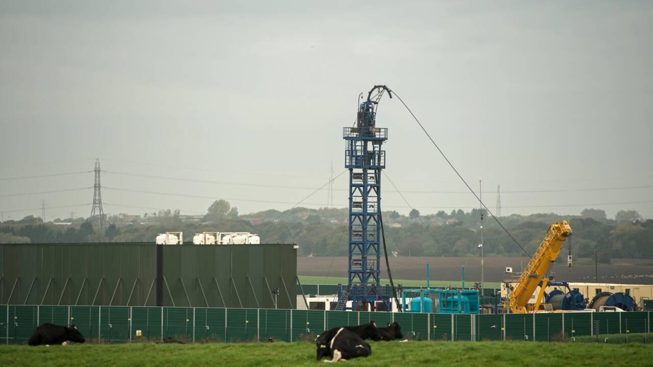 L'avenir du gaz de schiste au Royaume-Uni en question