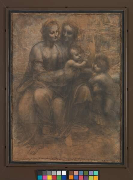 Sainte Anne, la Vierge, l'Enfant Jésus et saint Jean Baptiste, vers 1500
