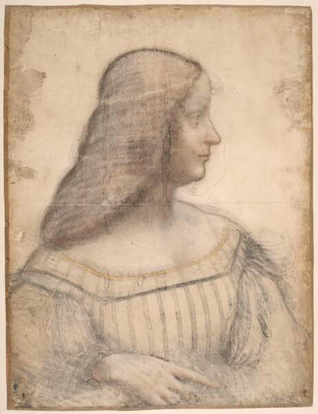 Portrait d'Isabelle d'Este, vers 1499-1500