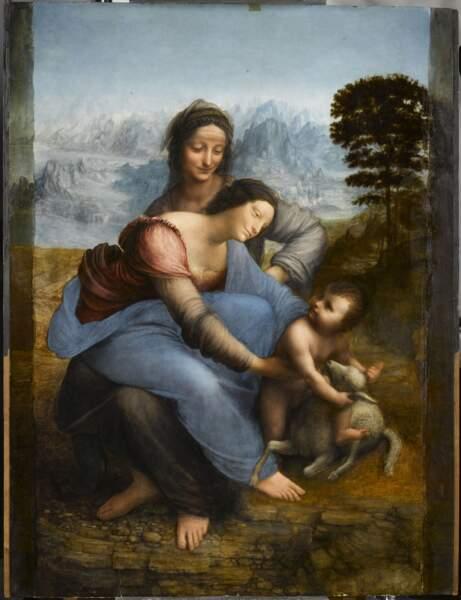 Sainte Anne, la Vierge et l'Enfant Jésus, dite La Sainte Anne, vers 1503-1519