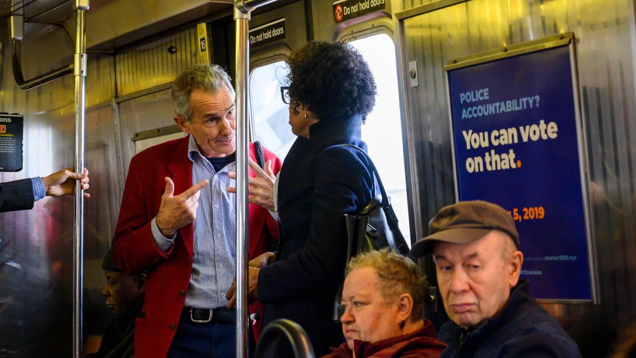 L'homme qui prêchait pour le climat dans le métro new-yorkais
