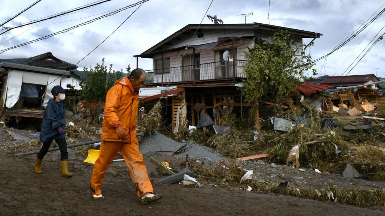 Pluies diluviennes au Japon : quatre morts, une personne disparue