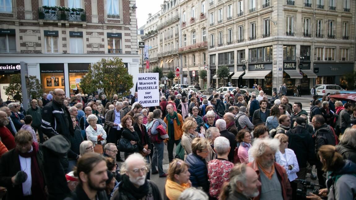 Lubrizol: plusieurs centaines de personnes rassemblées à Rouen