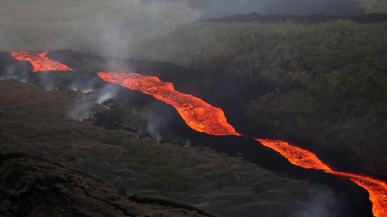 La Réunion: le Piton de la Fournaise en éruption pour la 5e fois de l'année