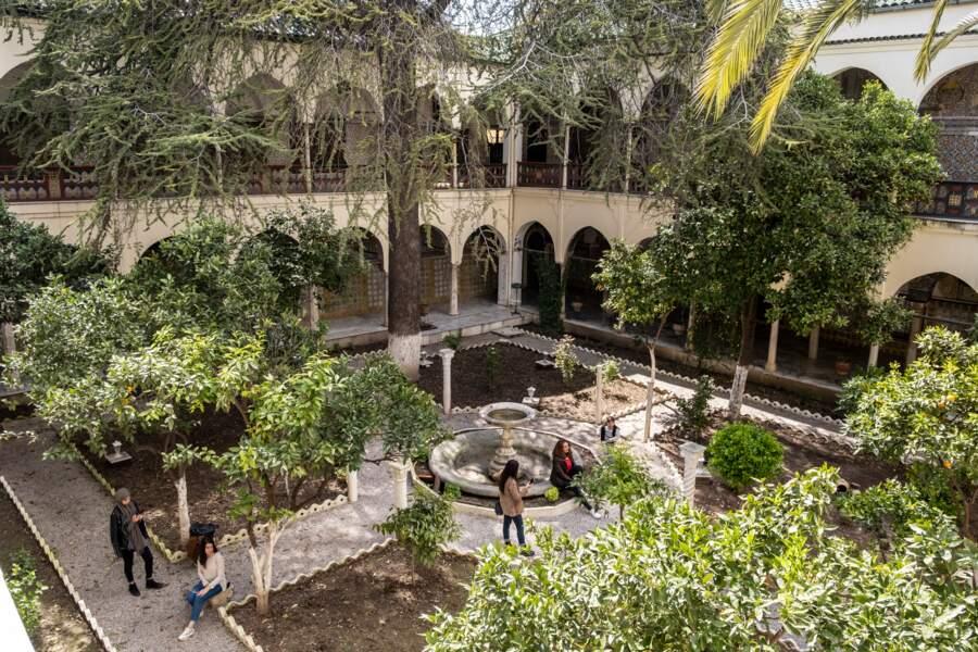 A Constantine, le palais de Hadj Ahmed Bey