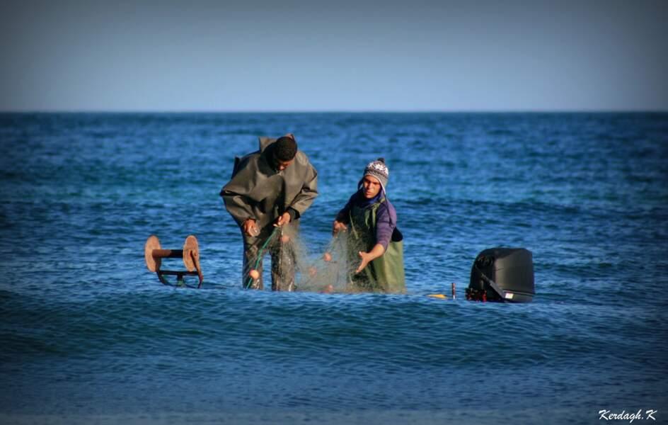 La mer... Lieu de refuge et de paix. Oran