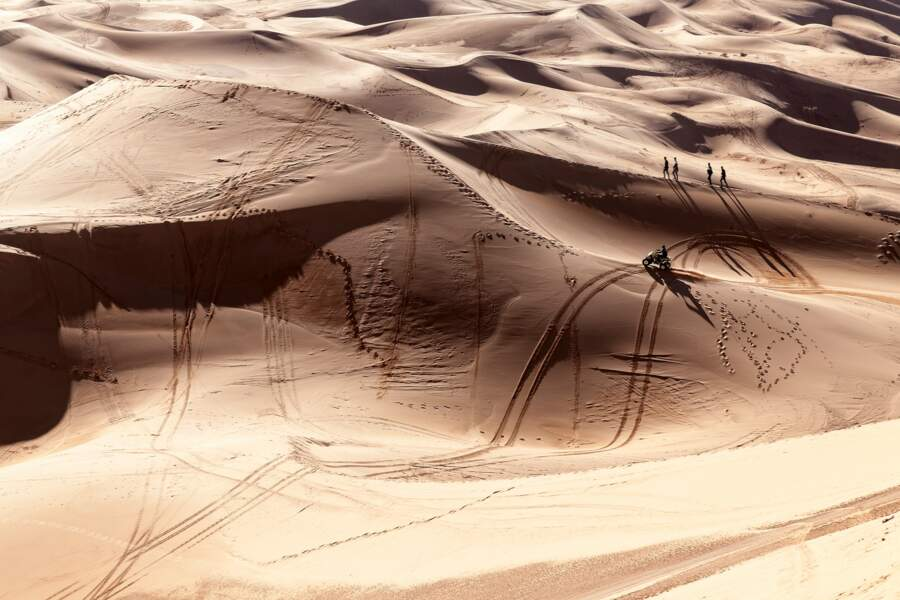 À l'assaut des dunes de Taghit
