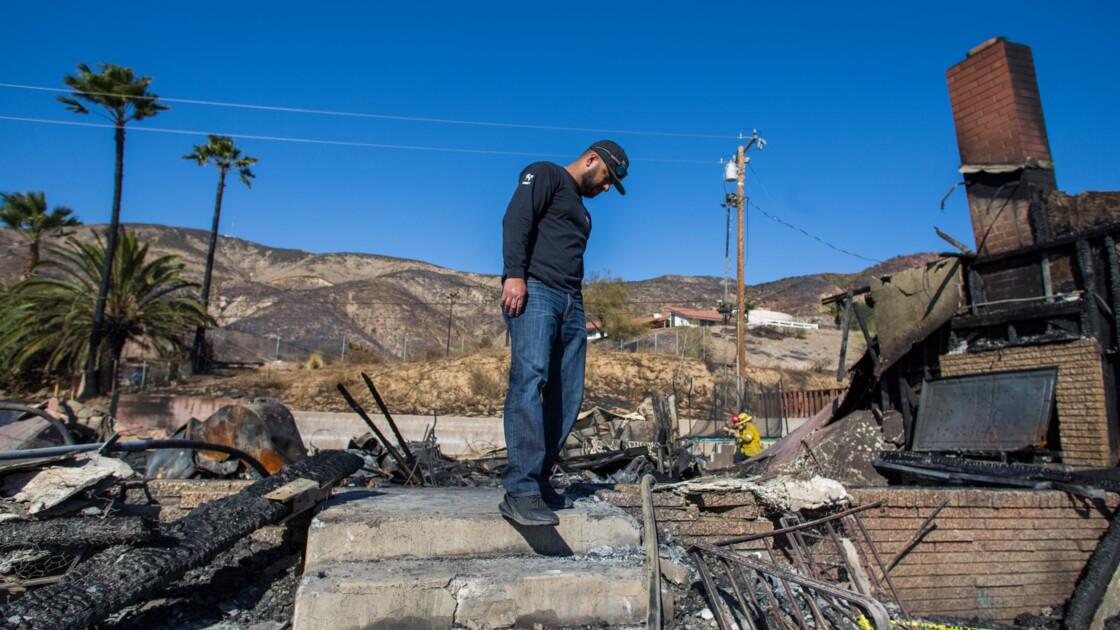 """""""La maison va brûler !"""": quand l'incendie frappe à la porte d'une famille californienne"""