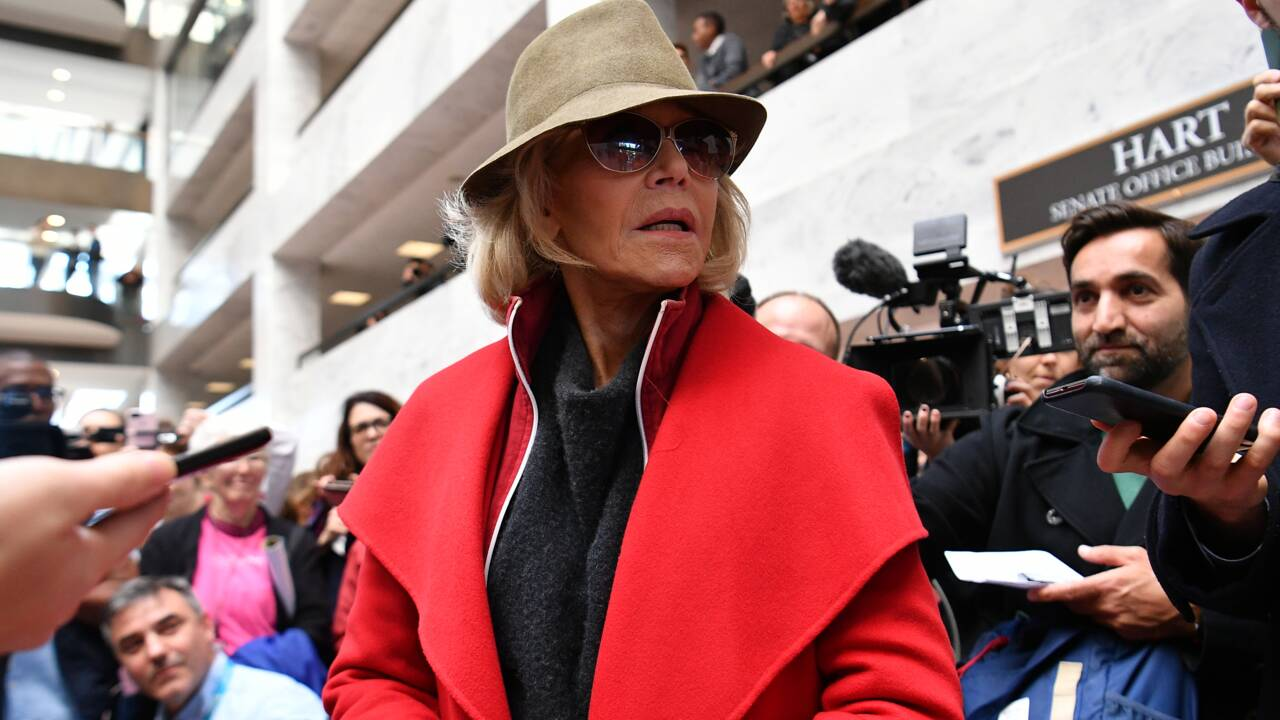 Jane Fonda (encore) arrêtée en protestant contre le changement climatique à Washington