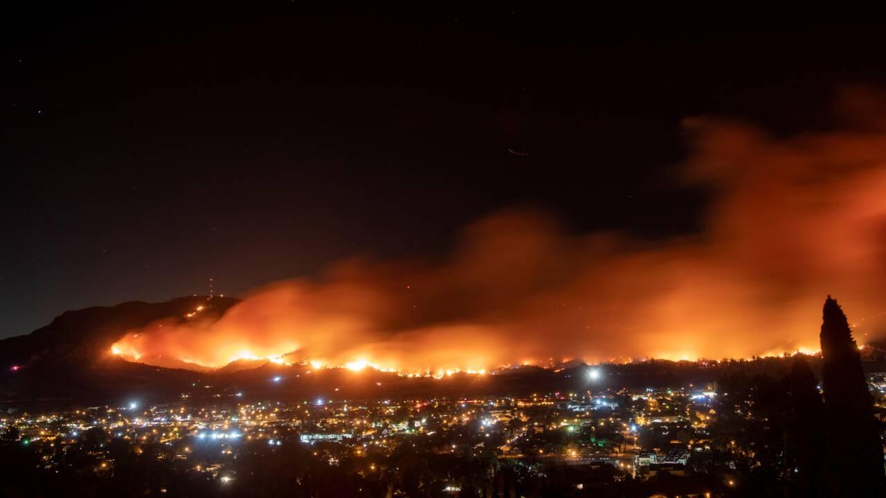 Californie: le réchauffement aggrave les incendies, alerte Greta Thunberg en passant par Los Angeles