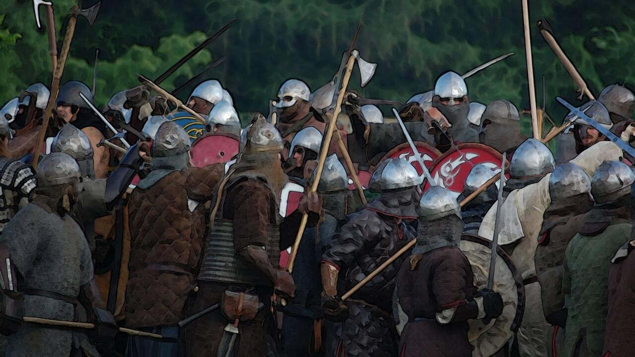 Et les Vikings envahirent la Bretagne