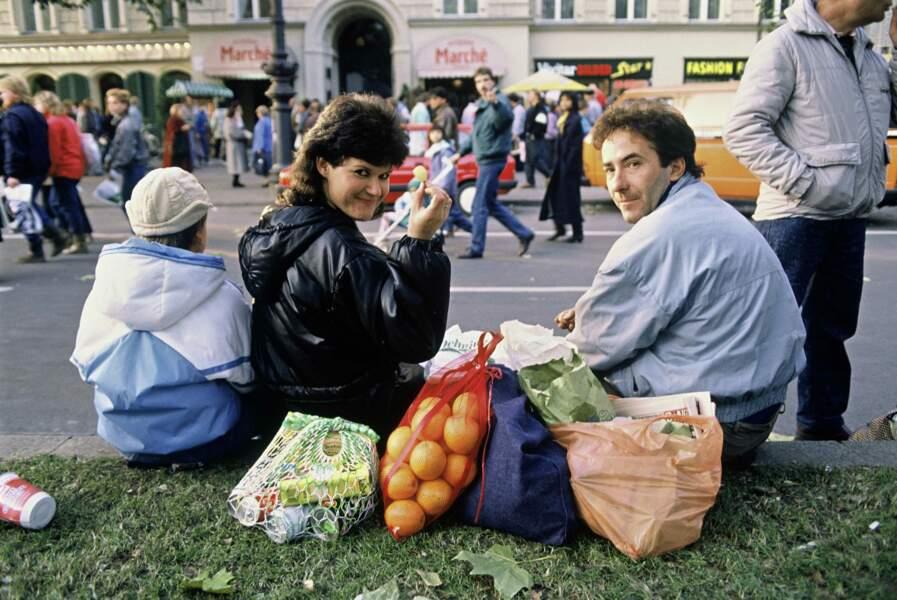 17 novembre 1989 : pouvoir aller faire ses courses à l'Ouest