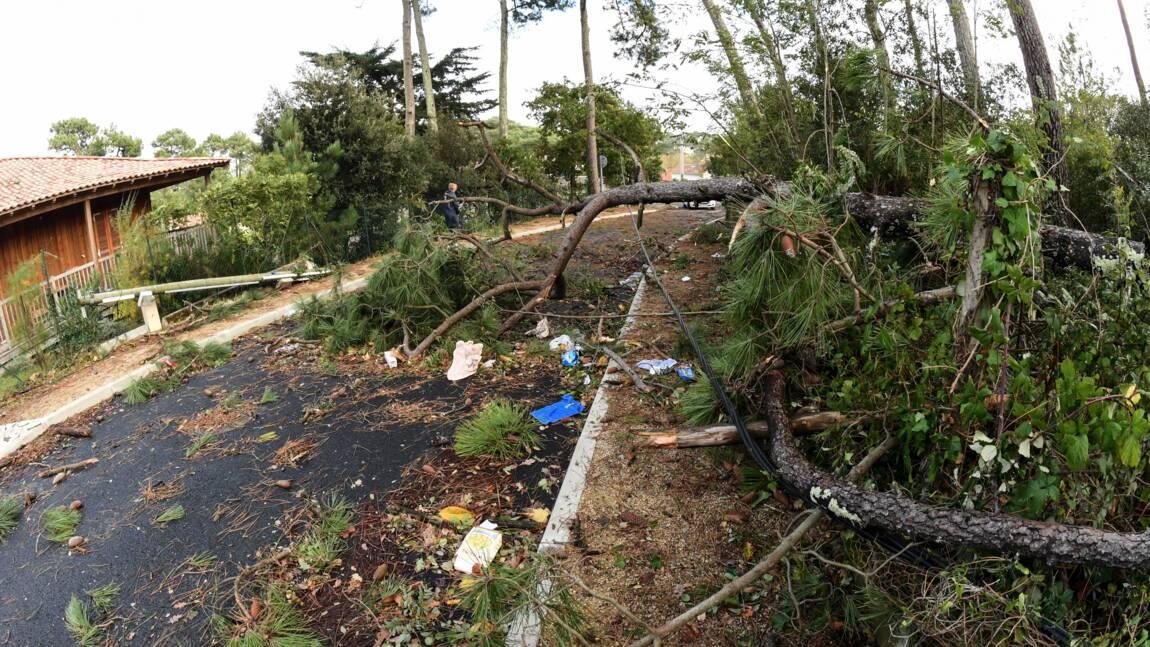 Tempête Amélie: moins de 10.000 foyers sans électricité lundi soir