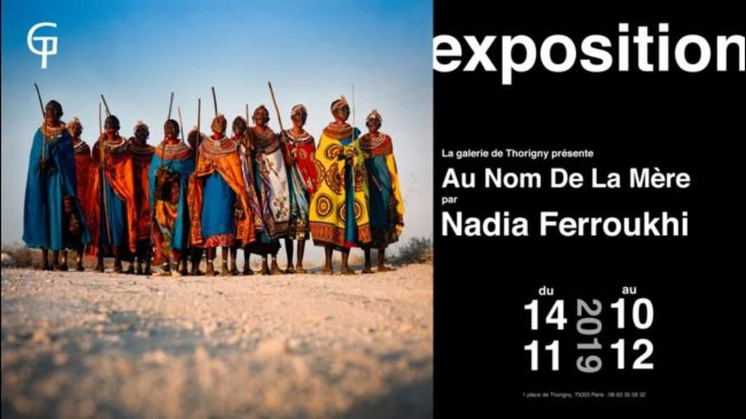 Nadia Ferroukhi expose à Paris