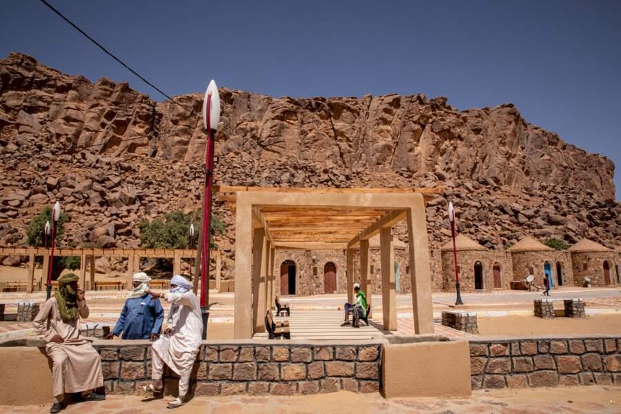 L'oasis d'Ihrir, au nord de Djanet