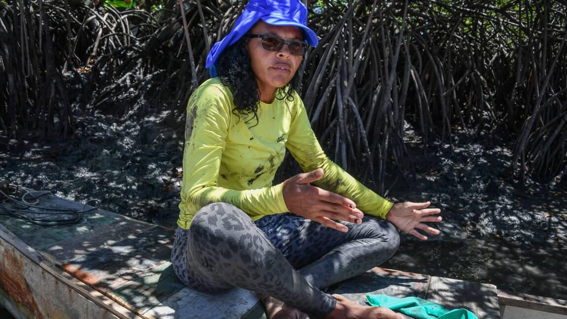 Au Brésil, le drame des pêcheurs englués dans la marée noire