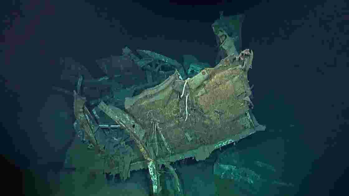 Une épave de la Seconde guerre mondiale découverte au large des Philippines 75 ans après