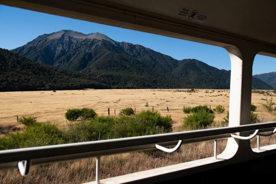 La ligne TranzAlpine : un train pour le Far West