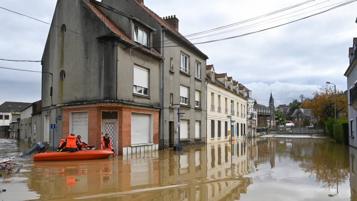 Inondations: Charente maritime et Pas-de-Calais en vigilance orange