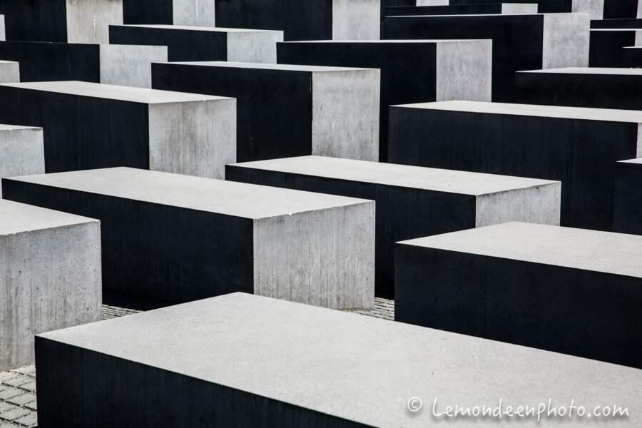 Mémorial aux Juifs assassinés d'Europe, également appelé Mémorial de l'Holocauste