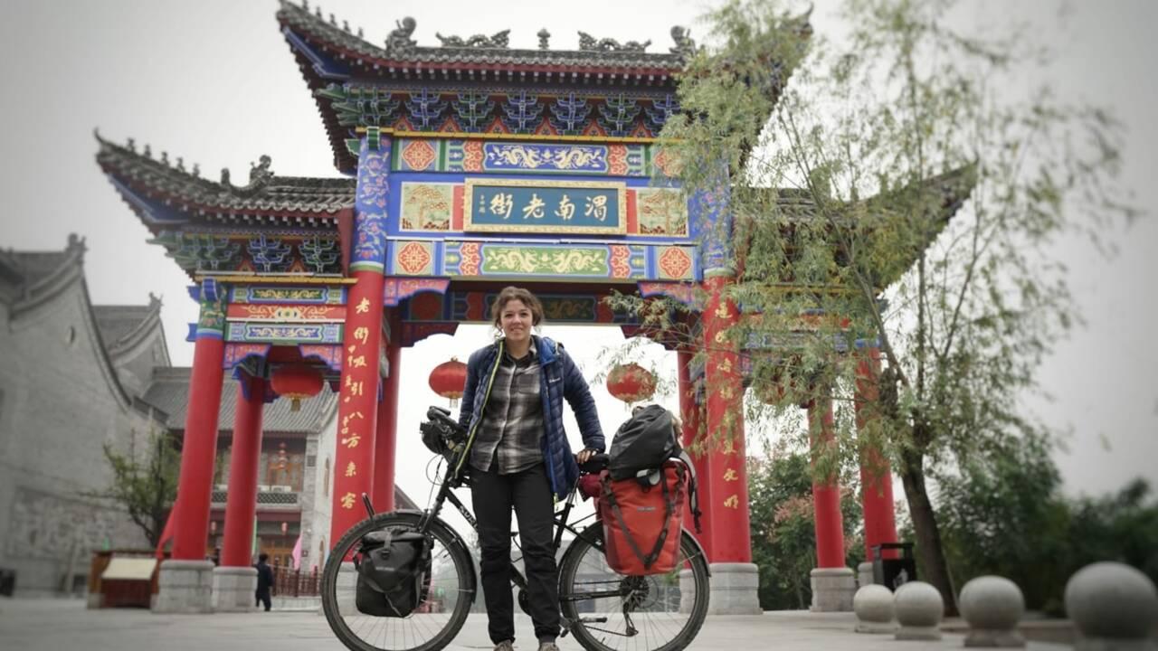 Dijon - Pékin à vélo : Aurélie Gonet boucle son incroyable périple de 7000 kilomètres !