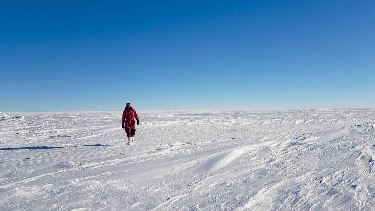 Neuf mois isolé dans une base de l'Antarctique, l'extraordinaire aventure de Cyprien Verseux