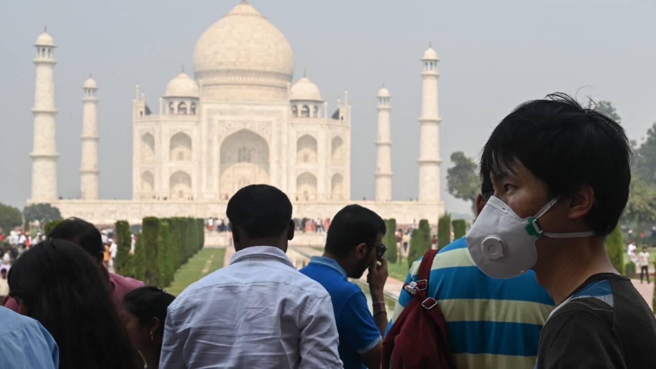 Le sous-continent indien toujours pris dans une dangereuse pollution atmosphérique