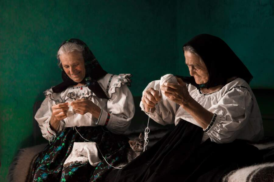 Tricoter à deux