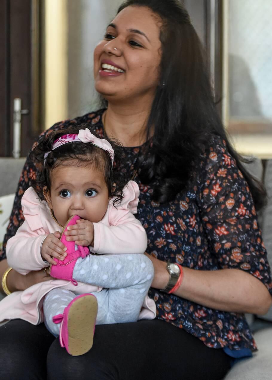 Dans la pollution de Delhi, les femmes enceintes s'inquiètent