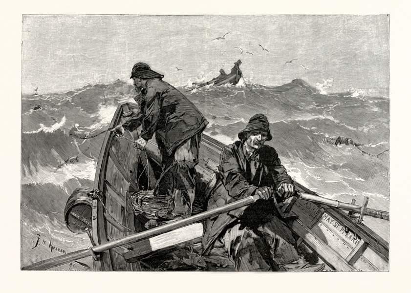 Ile de Bréhat, 1834 : les pêcheurs à la conquête de Terre-Neuve