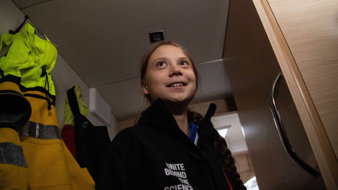 Greta Thunberg retourne en Europe, avant d'autres aventures en 2020