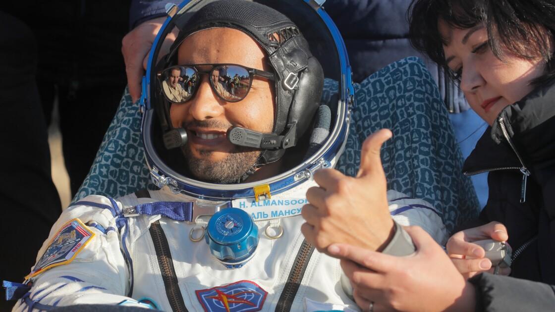 """""""Protégeons la Terre"""", plaide le premier astronaute émirati"""